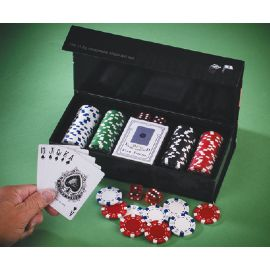 A casino set is perfect for the social gentleman!