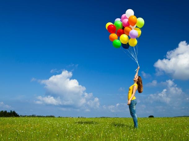 Girl Ballons 138024136